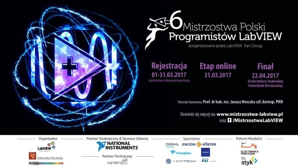 Mistrzostwa Polski Programistów LabVIEW 2017.