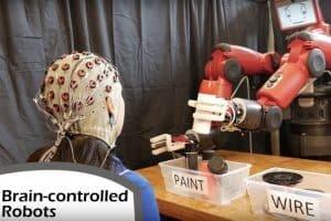 Nowy sposób sterowania robotem za pomocą mózgu