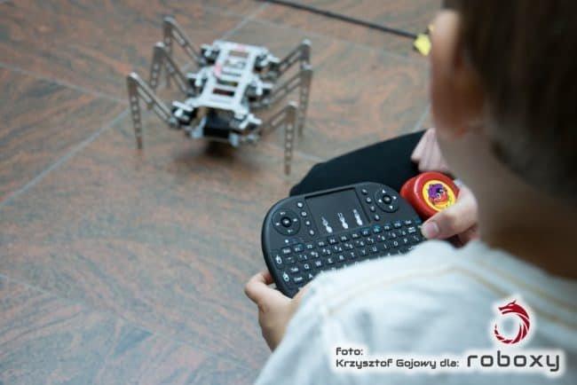 Przykładowy robot z konkurencji Freestyle.