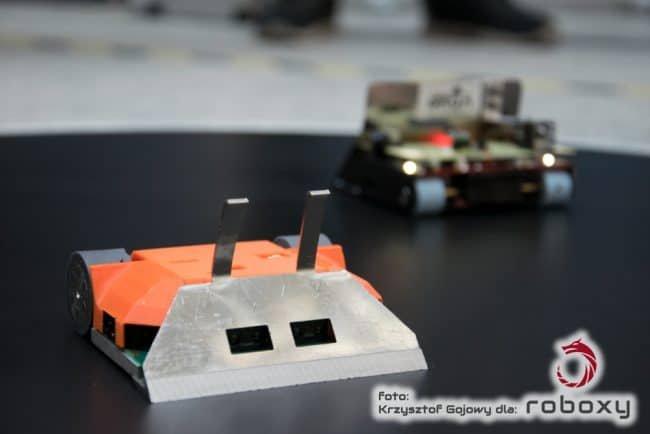 Przykładowy robot z konkurencja Sumo.