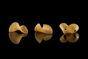 Makaron wydrukowany w 3D, który zmienia kształt