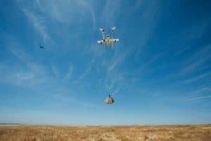 Project Wing testuje system kontroli lotów dla dronów