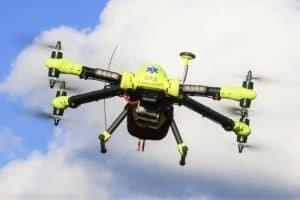 Ddrony, które ratują życie – latające defibrylatory