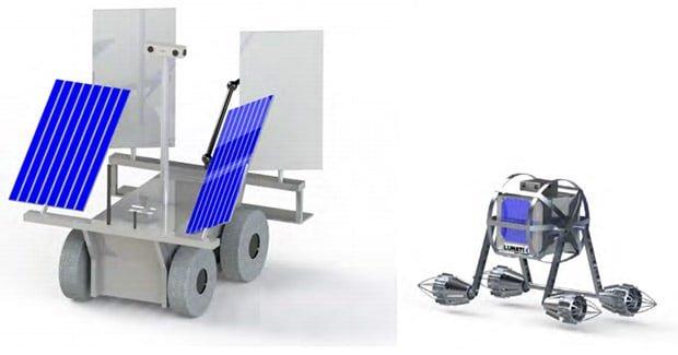 Koncept mobilnej platformy i Nanobota (nie w skali).