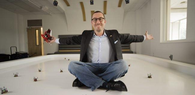 Magnus Egerstedt, jeden z twórców Robotarium.
