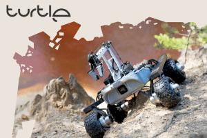 Łazik Turtle Rover – polski projekt na Kickstarterze