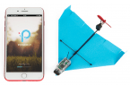 Zdalnie sterowany papierowy samolot – POWERUP DART!