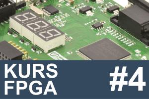 Kurs FPGA – #4 – pierwszy projekt, przykład VHDL