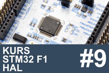 Kurs STM32 F1 HAL – #9 – SPI w praktyce, ekspander IO