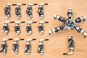 Snapbot, czyli robot z 6 wymiennymi nogami