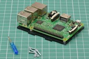 Przyłożenie Raspberry Pi.