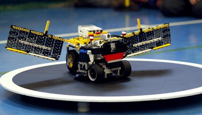 Robot Lego Sumo.