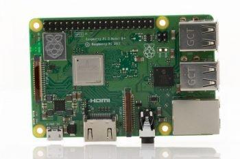 Raspberry Pi 3 model B+ (tył)