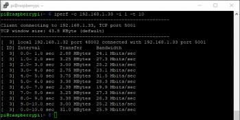 Raspberry Pi 3 model B+ (sieć 2.4 GHz).