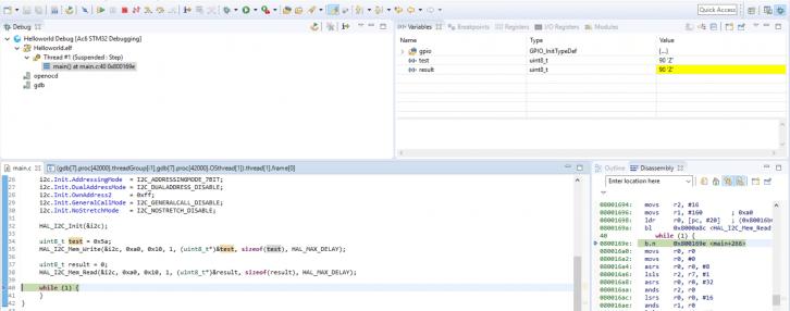 Zapis i odczyt danych z pamięci EEPROM w praktyce.