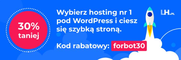 Specjalny kod rabatowy do LH.pl