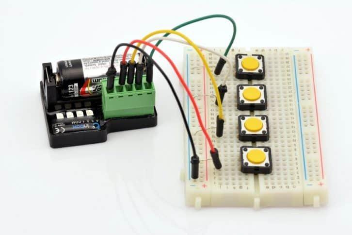 Platforma testowa dla modułu BleBox inBox.