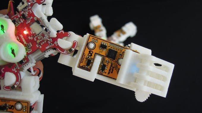 Elektronika sterująca napędem.