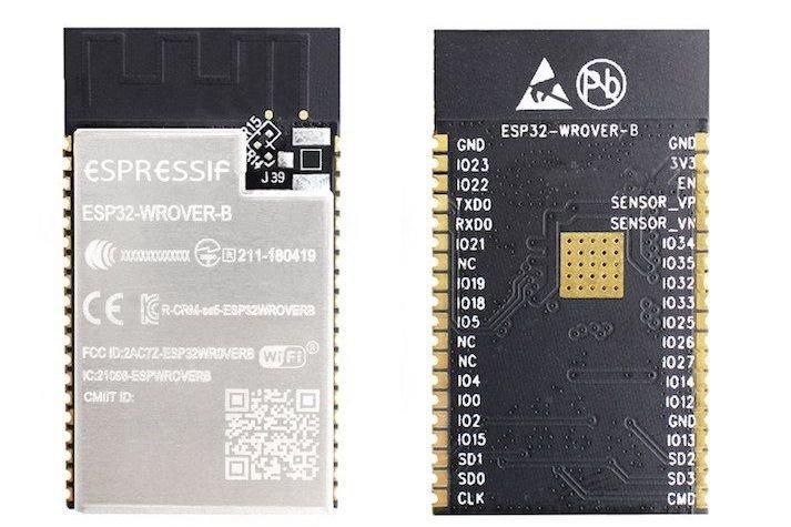 Nowy modułESP32-WROVER-B .
