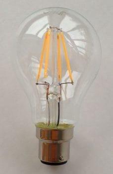 Dekoracyjna żarówka LED.
