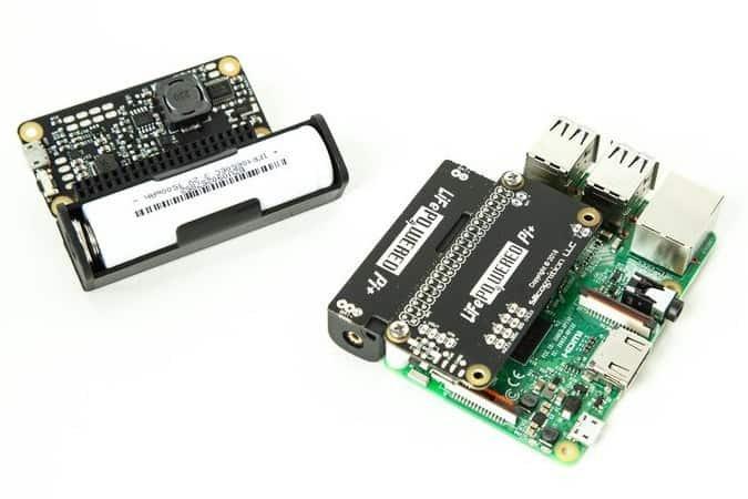 Niewielki modułLiFePO4wered/Pi+.