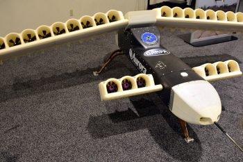 Aurora – projekt drona pionowego startu, napędzanego silnikami elektrycznymi