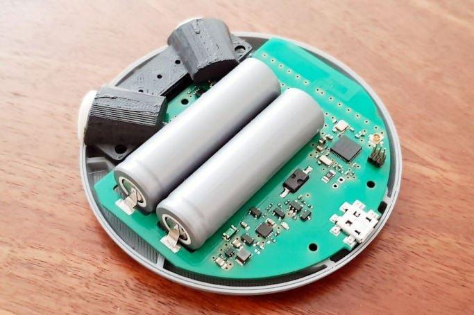Drugi prototyp urządzenia.
