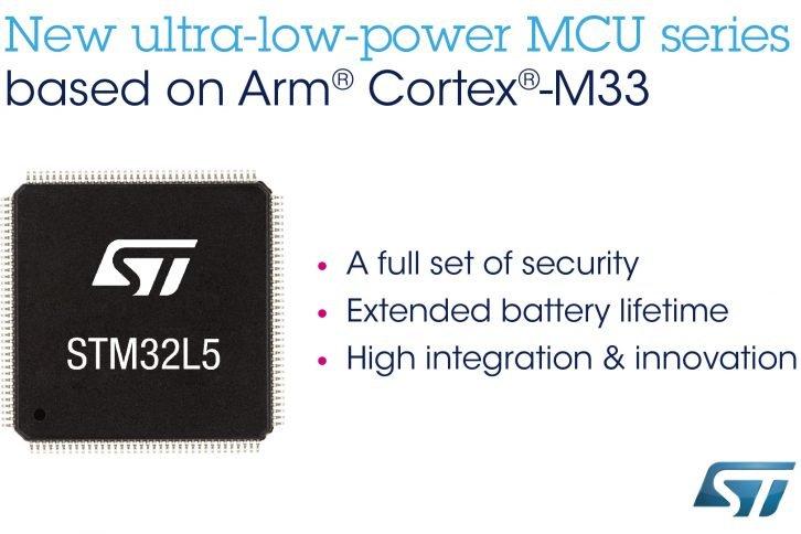 Główne cechy STM32L5 to dodatkowe opcje bezpieczeństwa i obniżony pobór prądu
