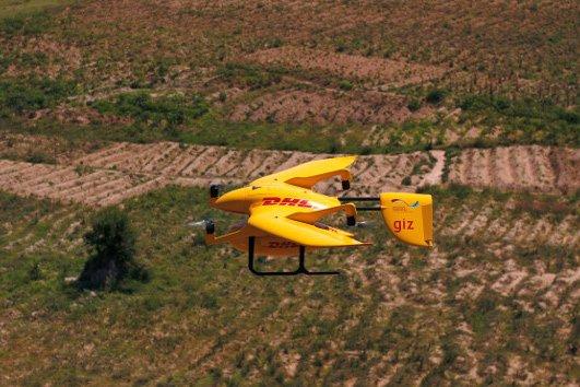 Dron przeleciał łącznie 2200 km i spędził w powietrzu ponad 2000 minut