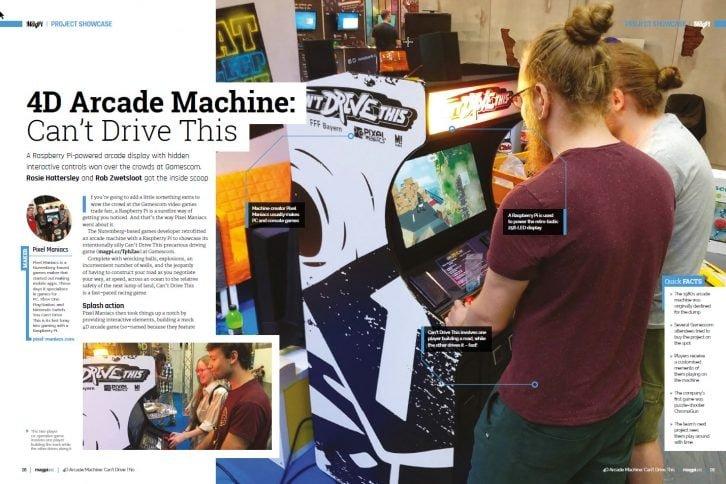 Opis projektu automatu do gier 4D