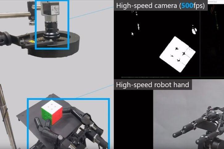 Analiza obrazu podczas układania Kostki Rubika