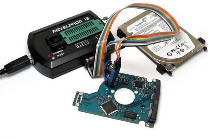 Przykład programowania pamięci kontrolera dysku HDD