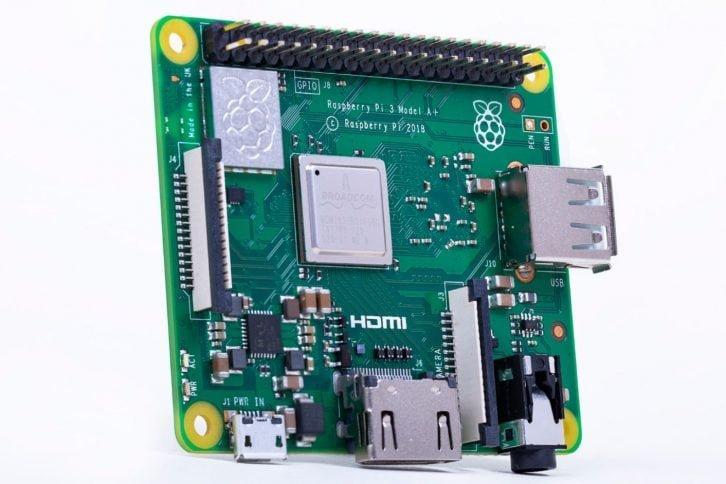 Nowe Raspberry Pi 3 model A+, widok ogólny