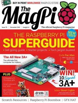 Grudniowy numer The MagPi.