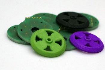 Kolorowe wirniki