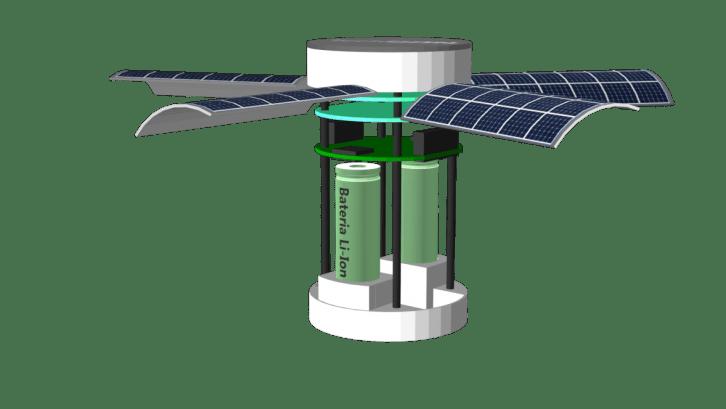 Projekt opisywanego satelity