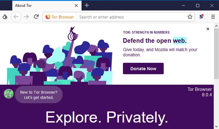 Przeglądarka projektu Tor