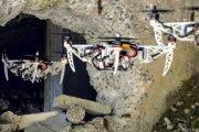 Dron, który potrafi zmienić konfigurację ramion w locie