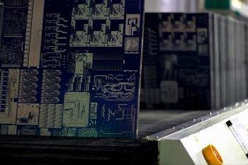 PCB z metalizowanymi polami miedzi