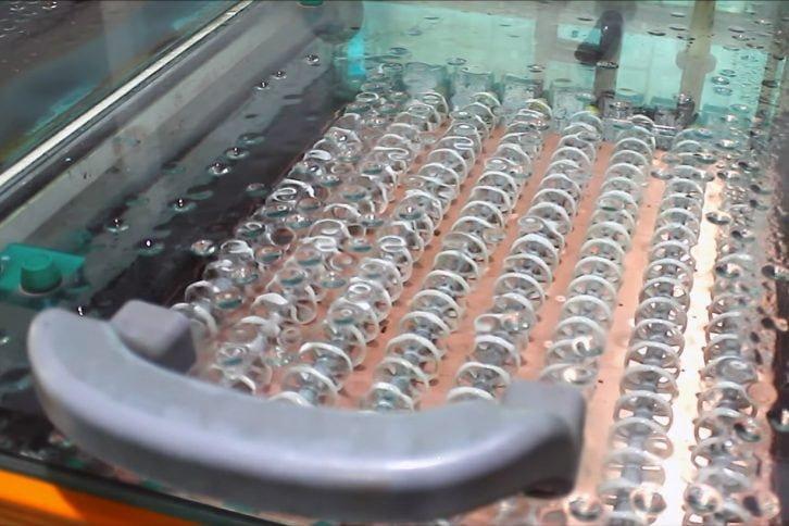 Kąpiel chemiczna - wstępna metalizacja otworów