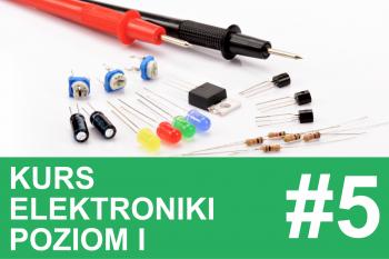 Kurs elektroniki – #5 – cewki, dławiki