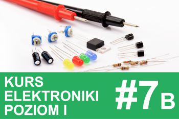 Kurs elektroniki – #7b – projekty z tranzystorami, MOSFETy