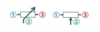 Potencjometr na schemacie - jaki symbol wybrać?