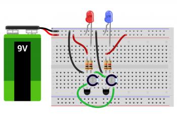 Kurs elektroniki – #7b – projekty z tranzystorami
