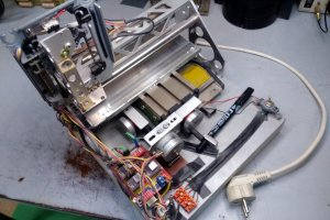 Ploter CNC - rysowarka do PCB
