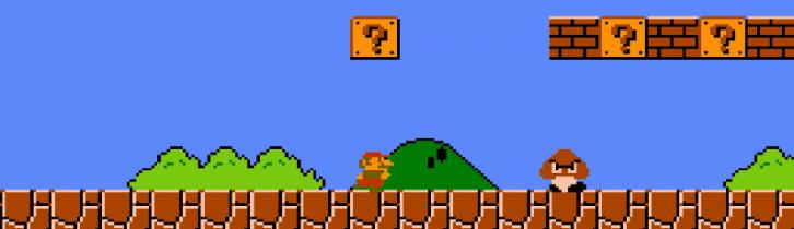Przykładowa gra retro: Super Mario Bros