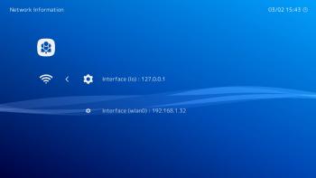 Sprawdzenie adresu IP naszej retro konsoli