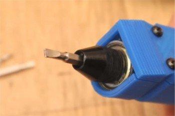 Elektroniczny śrubokręt DIY z obudową wydrukowaną w 3D