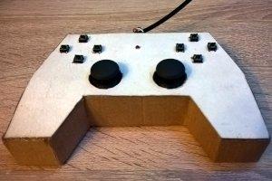Gamepad na Arduino