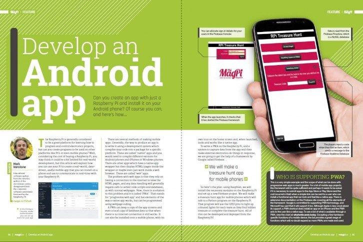 Artykuł pomoże napisać prostą aplikację na telefon